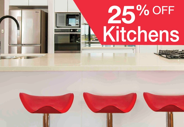 25% off Kitchens